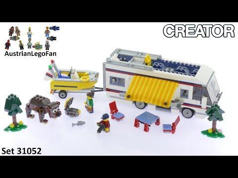 Vidéo LEGO Creator 31052 : Le camping-car