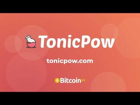 A Quick Guide to TonicPow