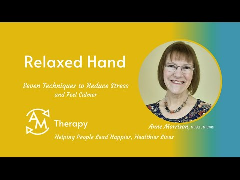 Relaxed Hand Technique<br />Learn to let go of tension and pressure with this simple relaxation process.