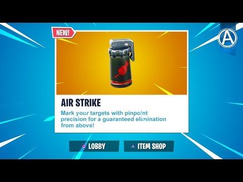 """NEW """"AIR STRIKE"""" ITEM Coming Soon! // 2300+ Wins // Use Code: byArteer (Fortnite Battle Royale LIVE)"""
