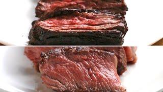 Easy Vs. Gourmet: Steak