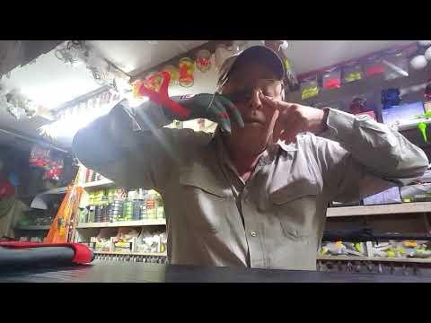 GUANTES DE ENCARNE PARA LA PESCA DEPORTIVA VIDEO 308 NUESTRO LOCAL FELIX U CAMET 1401 MDP