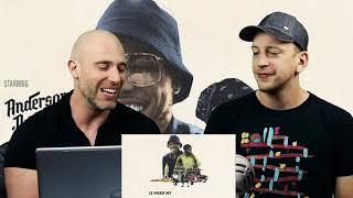 Anderson .Paak   TINTS Ft. Kendrick Lamar METALHEAD REACTION TO HIP HOP!!