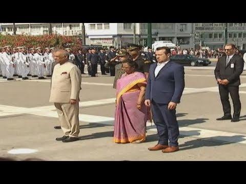 Στην Ελλάδα ο Πρόεδρος της Ινδίας