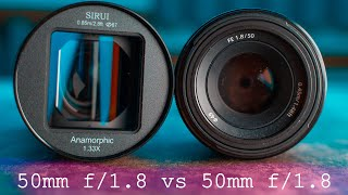 Cheap Anamorphic Lens Vs 50mm 1.8