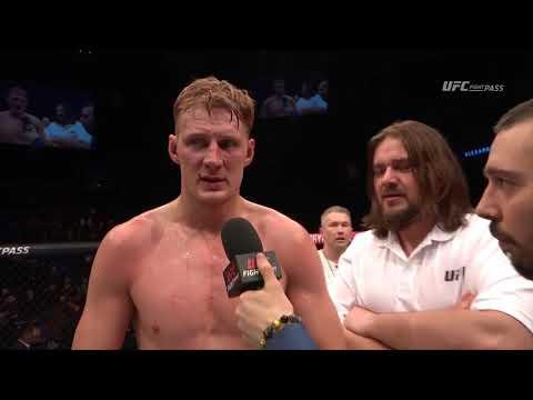 Fight Night London: Alexander Volkov Octagon Interview