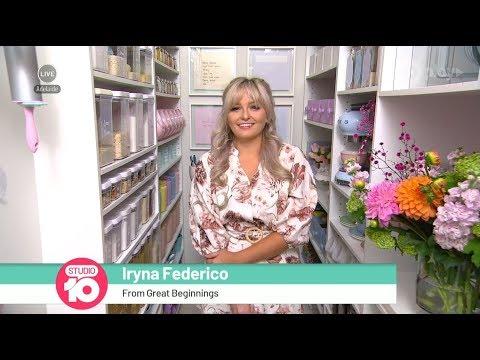 Iryna Federico's Home Organisation Heaven | Studio 10
