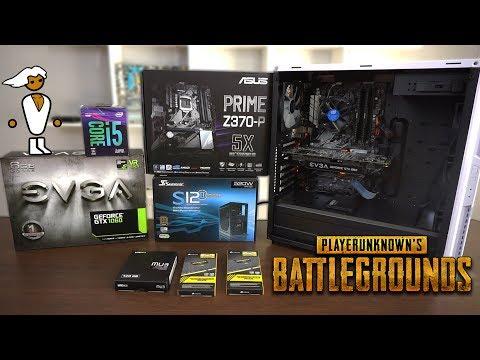 Ensamblando PC Gamer para PUBG y jugarlo en Ultra a 60FPS en este 2018