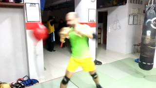 Boxing reflex training