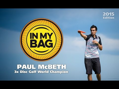 In My Bag with 3x Disc Golf World Champion Paul McBeth (2015)