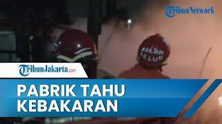 Pabrik Tahu di Tangerang Ludes Terbakar, Penyebab Berasal dari Tungku Pembakaran