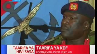 Waziri wa ulinzi Raychelle Omamo atoa hotuba kuhusu madai ya Raila Odinga kuhusu uchaguzi: Kivumbi