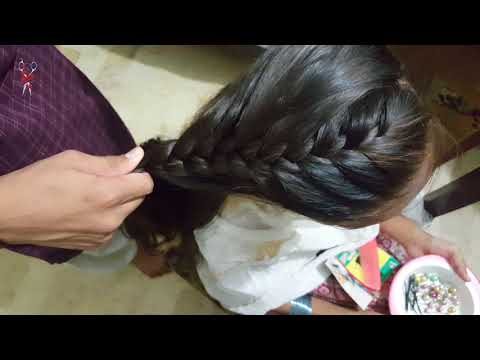 Download French Bread Upto Bread Hairstyle With Side Puff