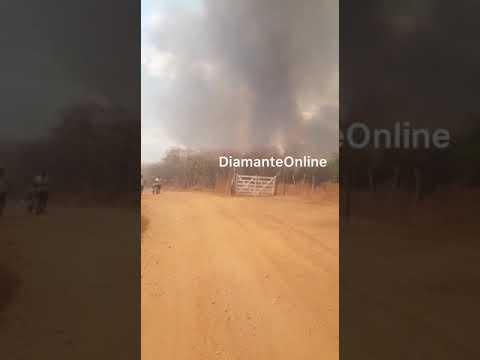Moradores registram incêndio em zona rural de Itaporanga (PB)