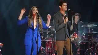 "Sara Bareilles and Drew Gehling // ""Bad Idea"" from Waitress"