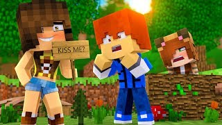 Minecraft Daycare - KISS ME !? (Truth Or Dare Minecraft Roleplay)