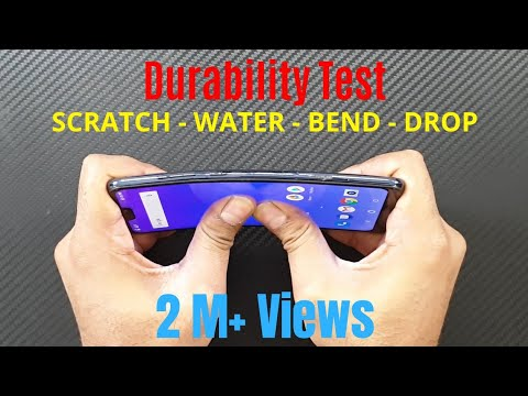 Asus Zenfone Max Pro M2 Durability Test (DROP SCRATCH WATER BEND) Gupta Information Systems [Hindi]