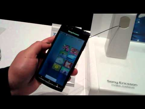 Video anteprima Sony Ericsson Xperia Arc
