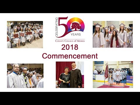 2018 County College of Morris Commencement