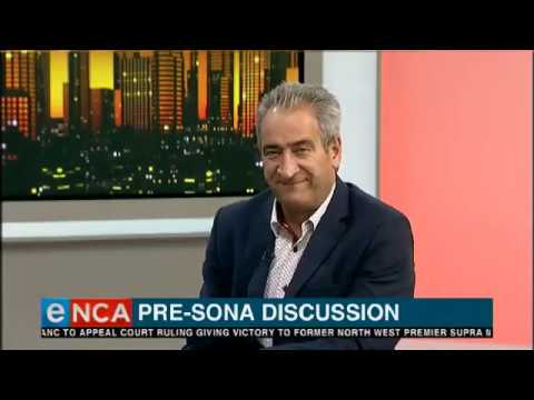 Tonight with Jane Dutton Pre Sona discussion 6 February 2019