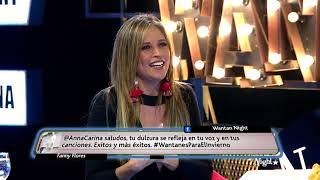 Wantan Night - Anna Carina - Su amistad con Pedro Suárez Vertiz