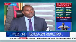 THE 40 BILLION QUESTION: Government under fire over use of Coronavirus budget