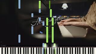Hơn Cả Yêu | Đức Phúc | Piano Tutorial
