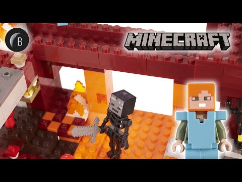 Vidéo LEGO Minecraft 21154 : Le pont de Blaze
