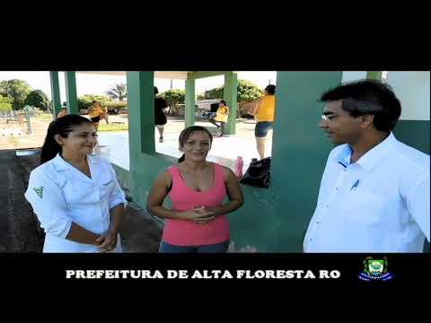 Projeto Através da Secretaria Municipal de Saúde. Academia de Saúde continua com suas atividades.