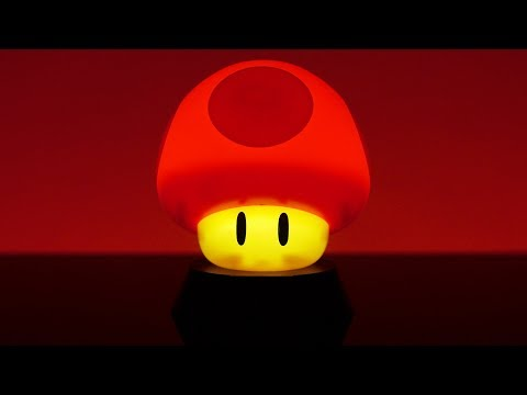 Lampka Super Mario 3D Mushroom