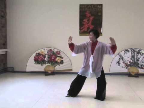 Traditional Sun Style Tai Ji Quan 97 Step by master Faye Yip