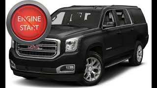 GMC Yukon with a dead key fob: Get in and start push button start models. (updated)