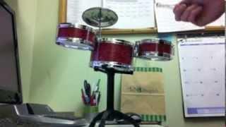 Desktop Drum Set Demo