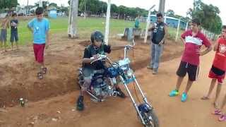 Mini Moto Chopper, Estilo Harley Importada, Customizada