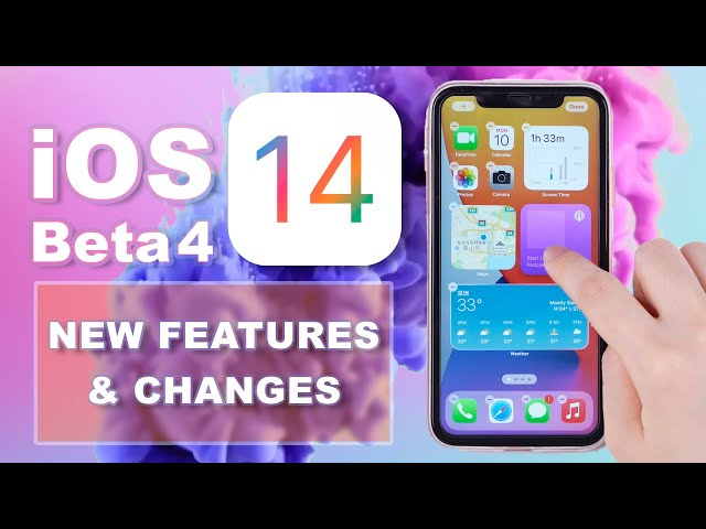 iOS 14 Beta 4 is out! What's new?
