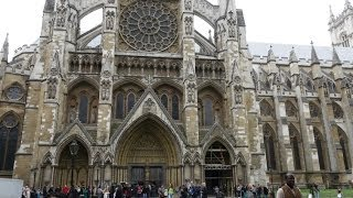 preview picture of video '(4K)Travel to London 2014 - Westminster Abbey ウェストミンスター寺院'