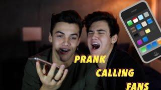 Prank Calling Fans Part 2 // Dolan Twins