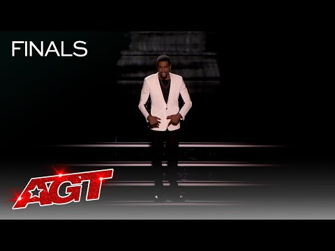 Brandon Leake Performs a Moving Spoken Word Piece About AGT – America's Got Talent 2020