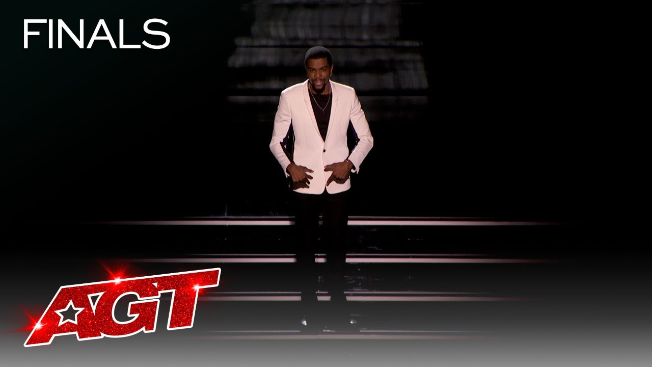 Brandon Leake Performs a Moving Spoken Word Piece About AGT - America's Got Talent 2020 thumbnail