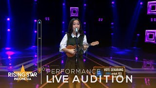 """Angeline Victoria   """"Ride""""   Live Audition 1   Rising Star Indonesia 2018"""