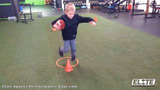 Youth Athlete Working Movement Skills
