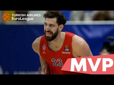 Round 3 MVP: Tornike Shengelia, CSKA