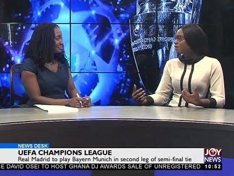 UEFA Champions League - Sports Desk on JoyNews (1-5-18)