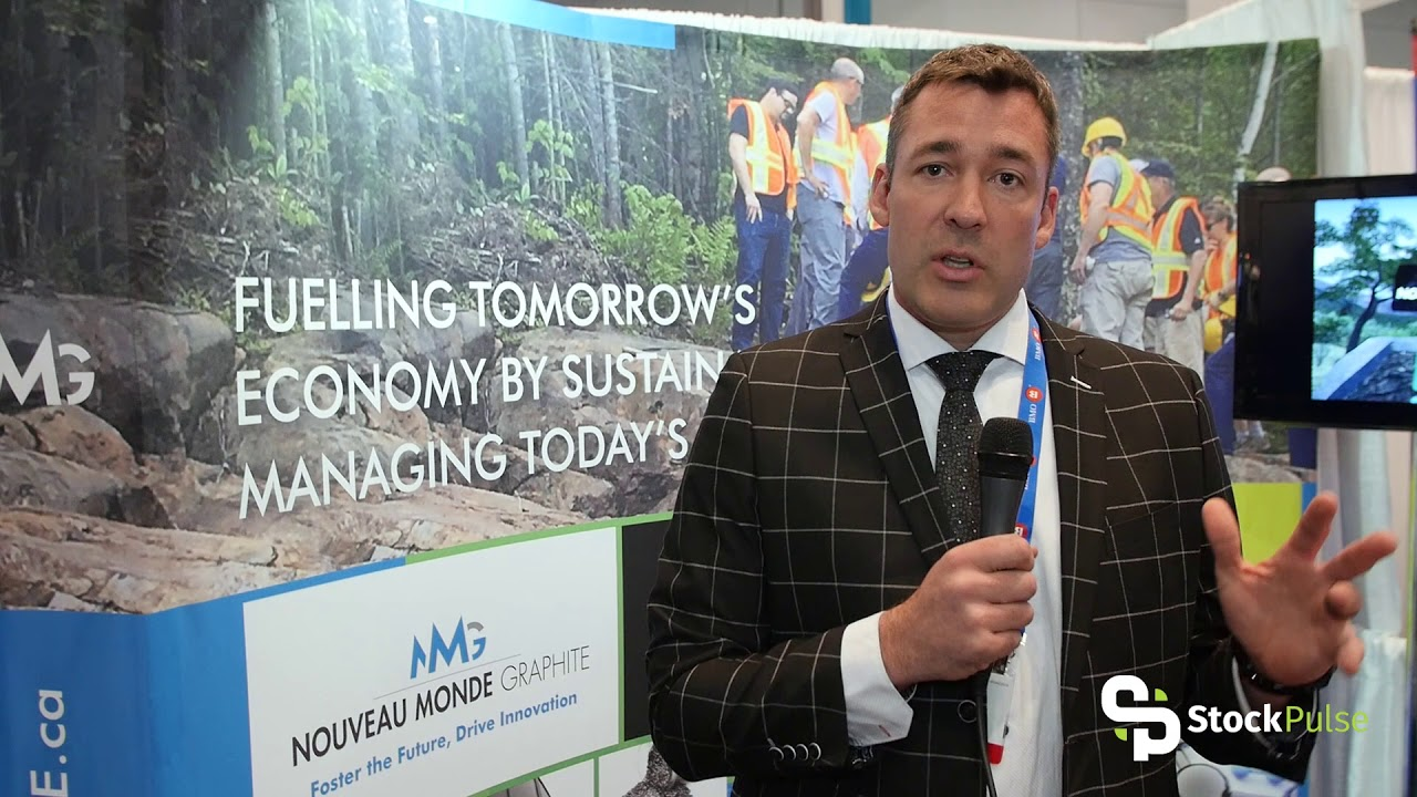 Nouveau Monde Catalyst Clip with President & CEO Eric Desaulniers at the 2018 PDAC in Toronto