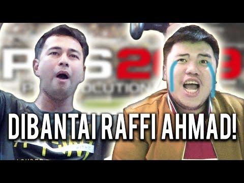 RAFFI AHMAD TERNYATA JAGO BANGET MAIN GAME??? #PROSDUEL - PES 2019 INDONESIA