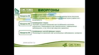 Виоргон 3 (Биофлуревит тимуса, иммунитет) от компании Сообщество Активного Долголетия - видео