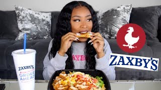 ZAXBY'S MUKBANG & STORYTIME: THE TIME I HAD 2 BOYFRIENDS AT THE SAME TIME