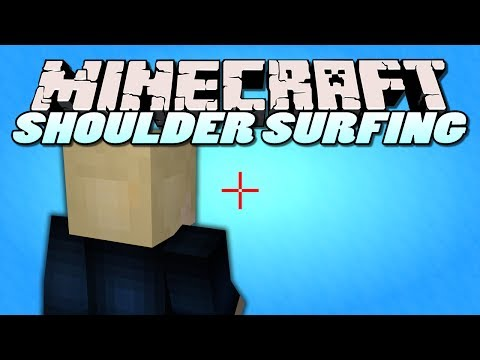 Minecraft Mods - Shoulder Surfing Mod (Minecraft Mod Showcase)