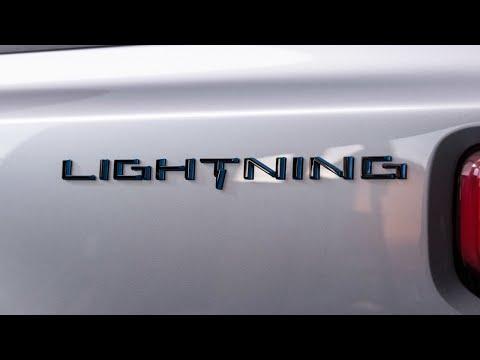Ford unveils all-electric F-150 Lightning