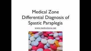 Medical Zone - Differential Diagnosis of Spastic Paraplegia